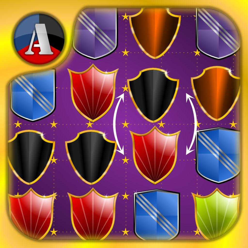 6Arcade Shield Crusher - Crush It Like Jewels And Diamonds