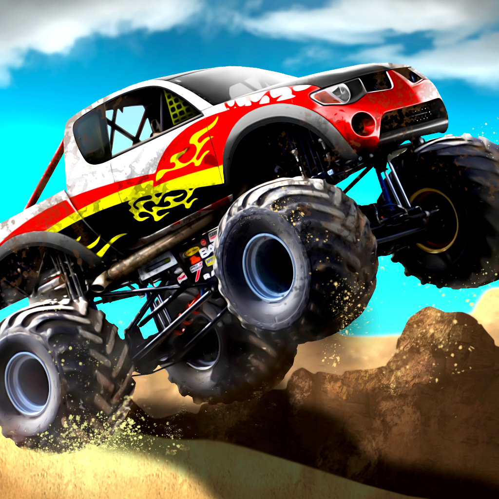 A Super Monster Truck Construction Race - Best Simulator Delivery Race Game